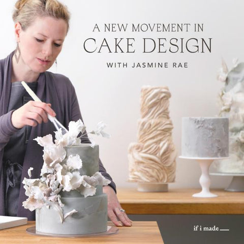 A New Movement in Cake Design with Jasmine Rae (RPP) - 18 payments of $99