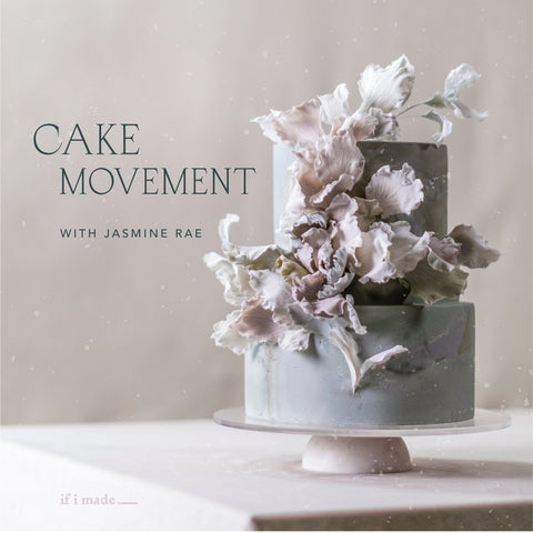 Cake Movement with Jasmine Rae (RPP) - 12 payments of $99