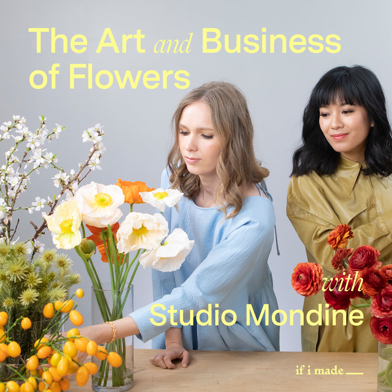 The Art and Business of Flowers with Studio Mondine (SPPJan21) - 13 payments of $99