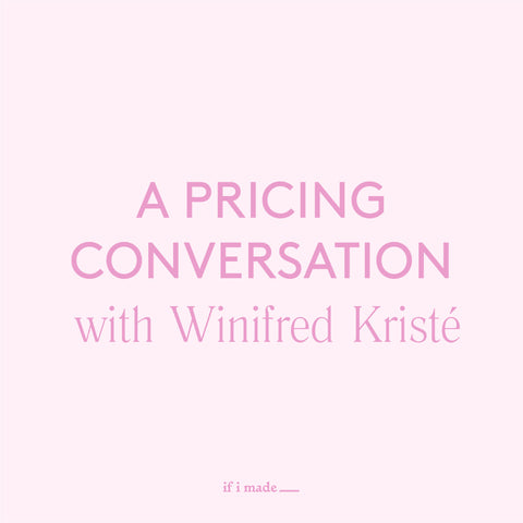 A Pricing Conversation with Winifred Kriste (ROP)