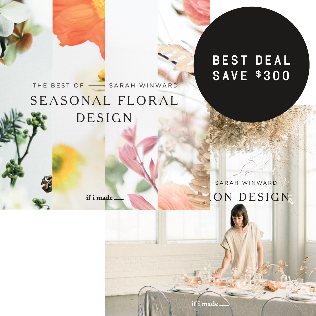 Retail Payment Plan: The Best of Sarah Winward: Installation Design and Seasonal Floral Design - 6 payments of $230