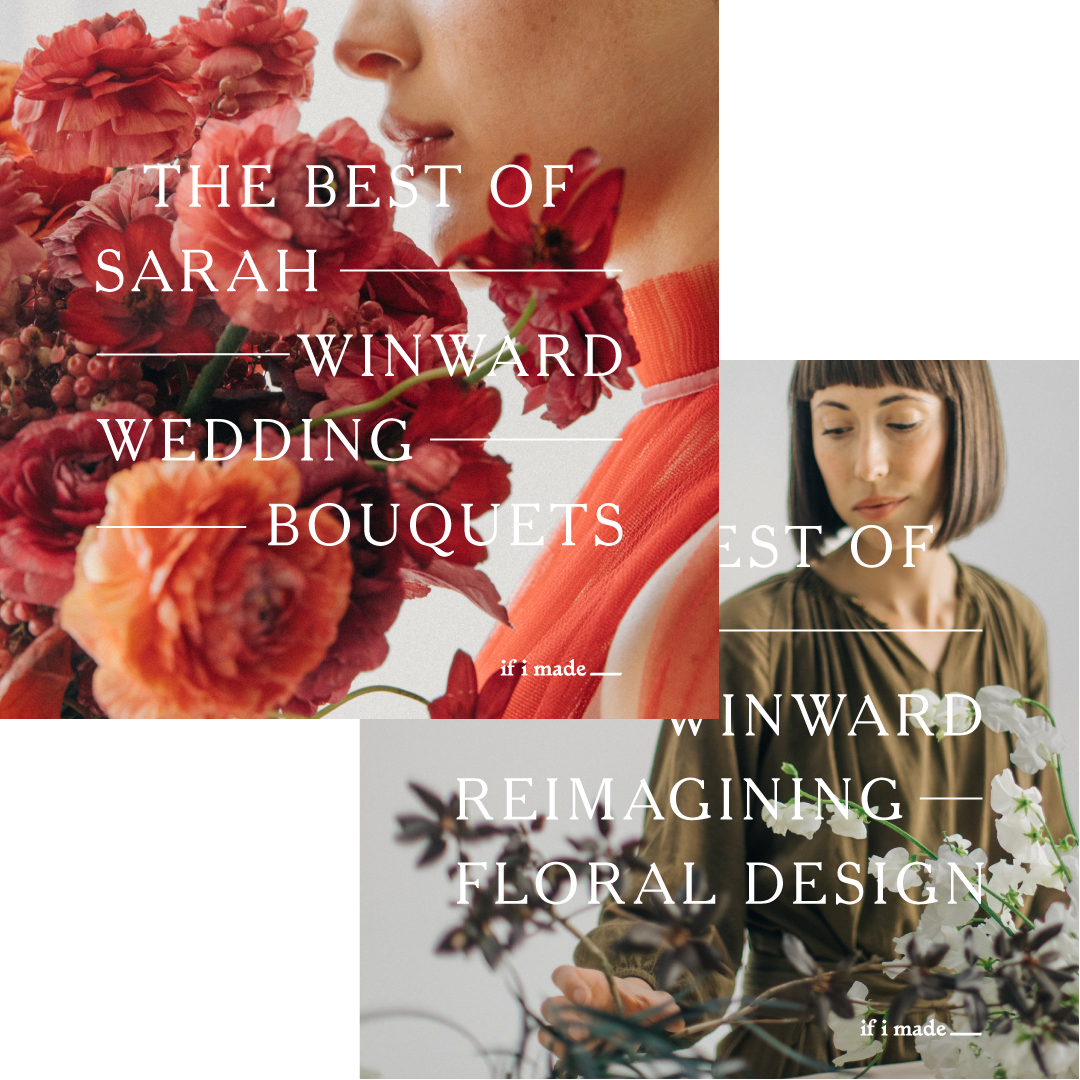 Retail Payment Plan: The Best of Sarah Winward: Wedding Bouquets + Reimagining Floral Design