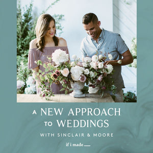 Sale Payment Plan: A New Approach to Weddings with Sinclair & Moore- 16 Monthly Payments of $99