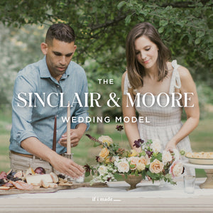 Retail Payment Plan: The Sinclair & Moore Wedding Model 4 Payments of $399
