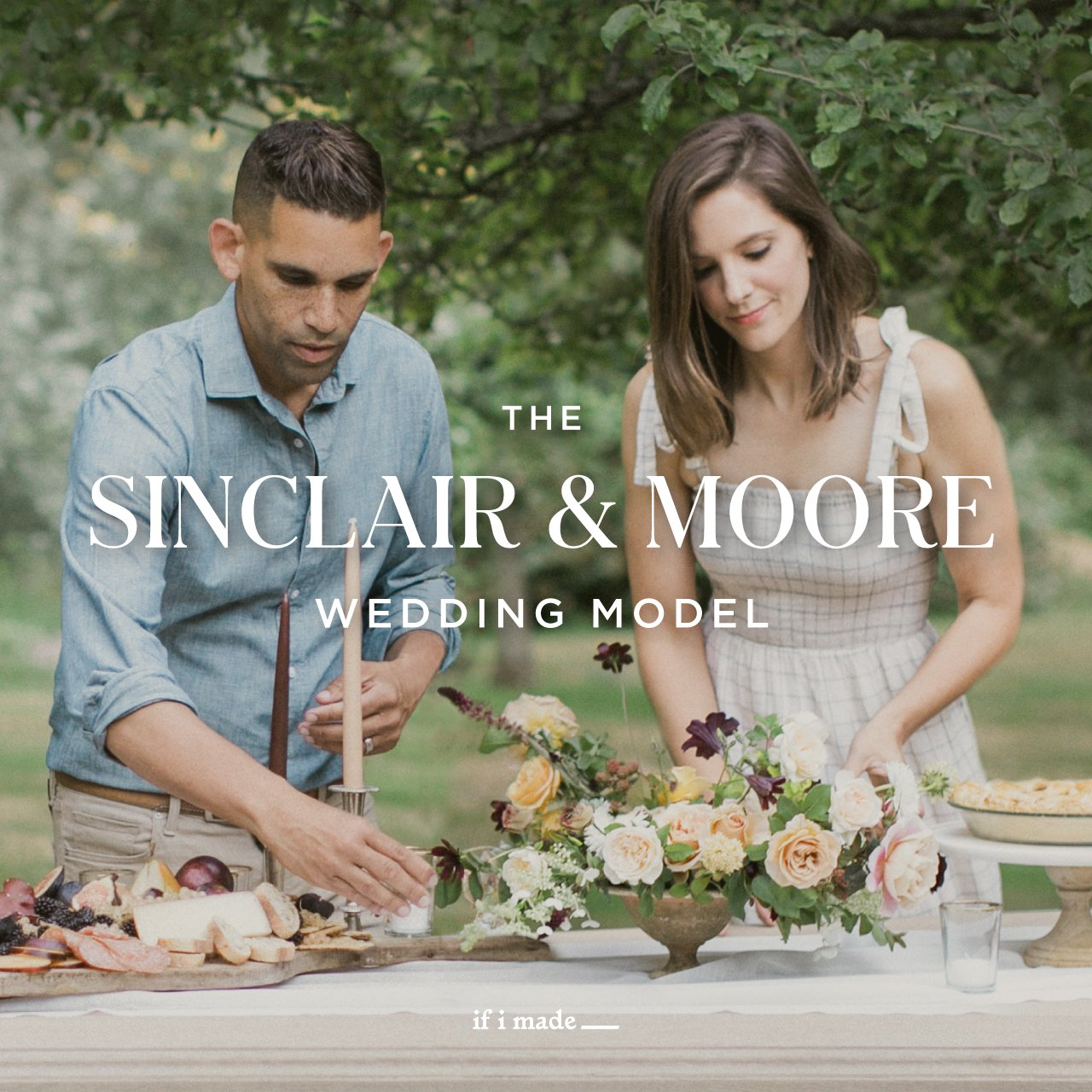 Sale Payment Plan: The Sinclair & Moore Wedding Model- 18 Monthly Payments of $99