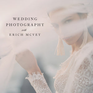 12 Month Payment Plan Wedding Photography with Erich Mcvey- 12 Payments of $79