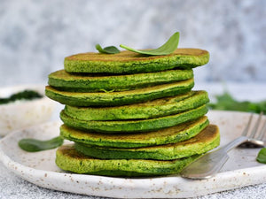 Recepta de pancakes Matcha de Matcha Magic