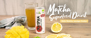 Matcha Superfood Drink - Plus de Matcha, moins de sucre!