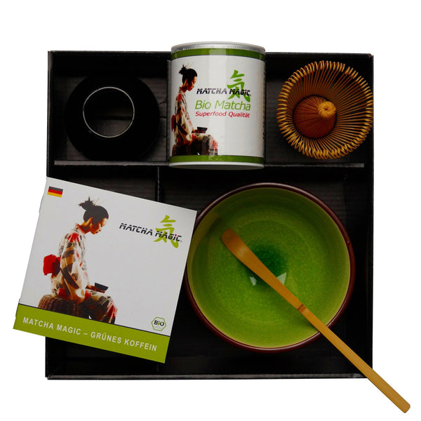 "Commandez le Matcha Set ""Superfood"" dans la boutique en ligne Matcha Magic."