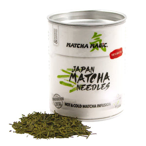 Matcha Needles di Matcha Magic - Matcha in polvere pressata per più infusioni di tè