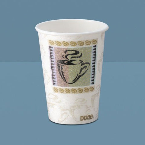 5338CD - Dixie PerfecTouch Paper Coffee Cup - 8 oz