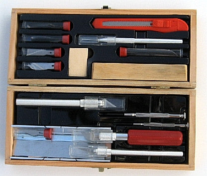 Deluxe Knife, Tool, and Blade Set
