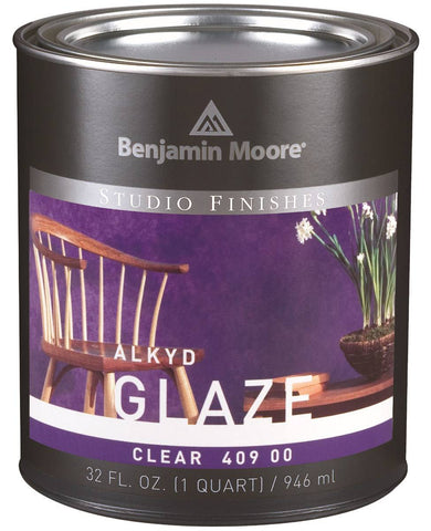 Benjamin Moore Studio Finishes Alkyd Glaze 409-00 Quart