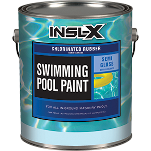Insl-x CR-2600 Series Chlorinated Rubber Swimming Pool Paint