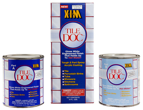 XIM Tile Doc Epoxy Acrylic Coating 54020K 2 Pint Kit (Free Shipping)