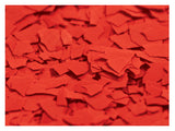 "Chipflakes 1/4"" Solid Color Decorative Chips 1LB Bags"