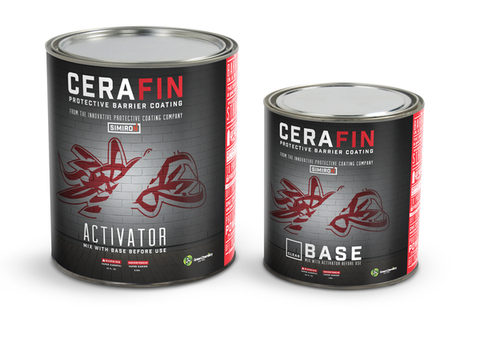 CERAFIN Protective Barrier Graffiti Resistant Coating Kit