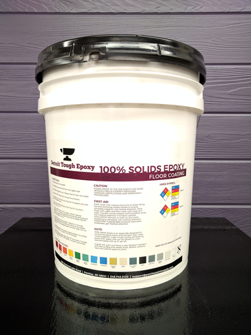 Detroit Tough Epoxy 100% Solids Epoxy