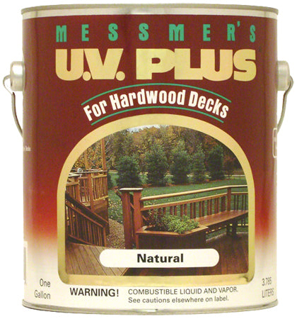 Messmer's UV Plus for Hardwoods 550 VOC Red Mahogany and Natural