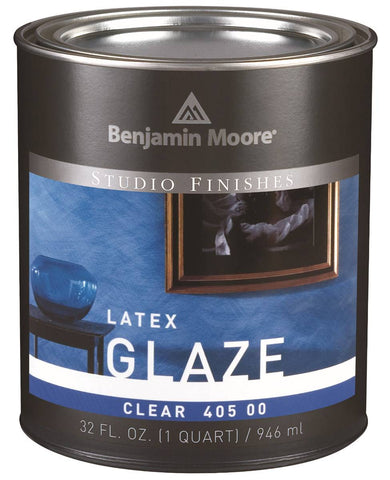 Benjamin Moore Latex Glazing Liquid Clear N405-00 Quart