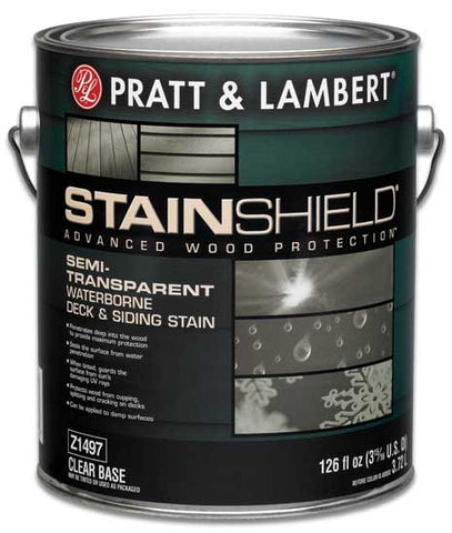 Stainshield Exterior Semi-Transparent Waterborne Deck & Siding Stain