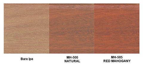 Messmer's UV Plus for Hardwoods Natural & Red Mahogany