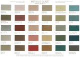 Benjamin Moore Studio Finishes Pearlescent Glaze Color Chart High Resolution