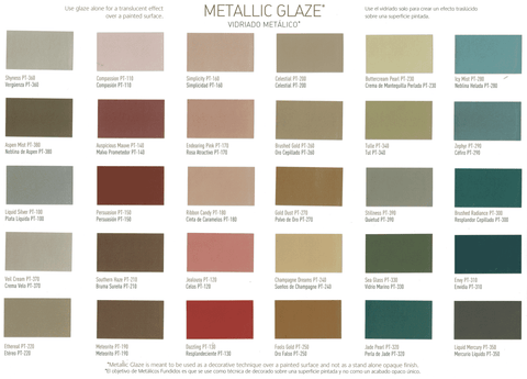 Benjamin Moore Studio Finishes Pearlescent Glaze All Colors Available 640-04