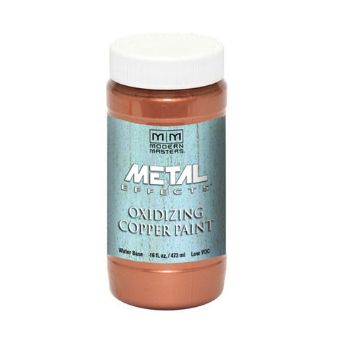 Modern Masters Metal Effects Oxidizing Copper Paint (ME149) 16oz
