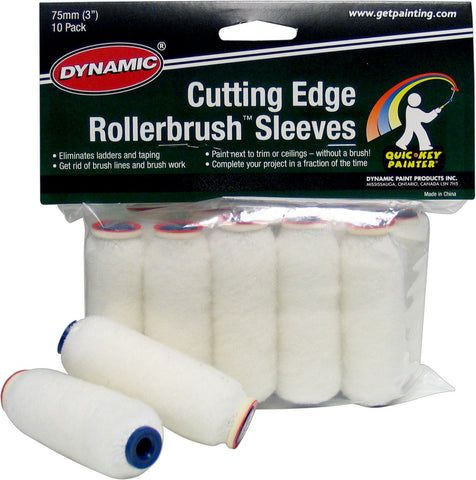 Dynamic Cutting Edge Rollerbrush Roller Refills 10 Pack