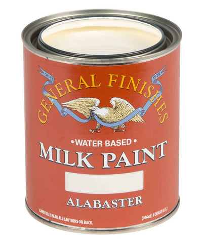 General Finishes Milk Paint Alabaster Quart