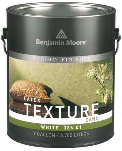 Benjamin Moore Texture Paint White Gallon