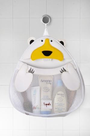 Polar Bear Bath Storage - The Bramble Bush