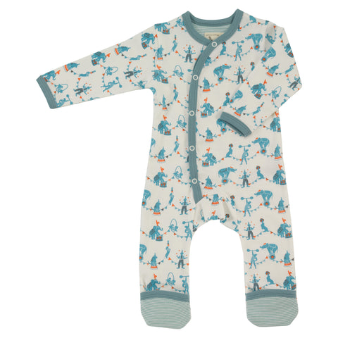 Circus Romper - Blue - The Bramble Bush