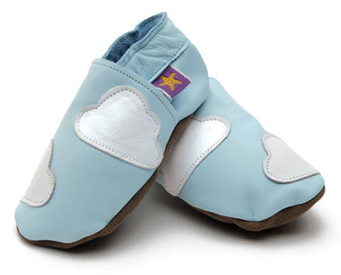 Cloud 9 Soft Leather Baby Shoes - The Bramble Bush