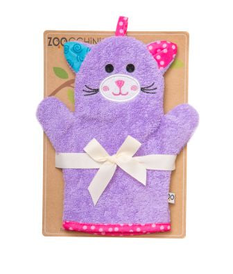 Kallie the Kitten Bath Mitt - The Bramble Bush