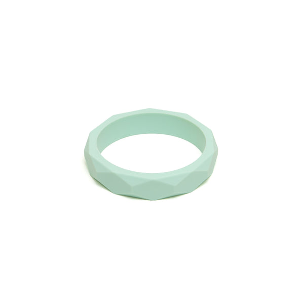 Mint Teething Bangle - The Bramble Bush