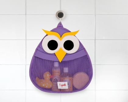 Owl Bath Storage - The Bramble Bush