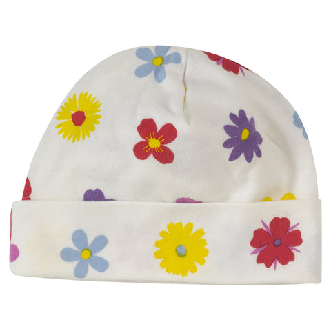 Pansy Beanie Hat - The Bramble Bush