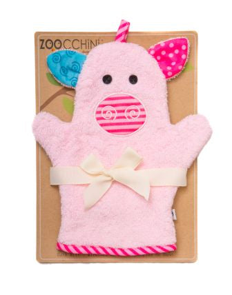 Pinky the Pig Bath Mitt - The Bramble Bush