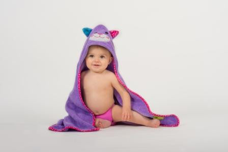 Kallie the Kitten Hooded Towel - The Bramble Bush