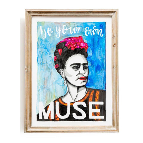 Be Your Own Muse - Frida Kahlo