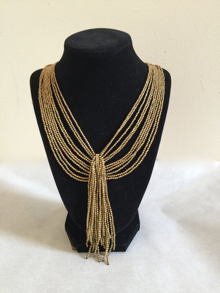 Brass Sarong Necklace