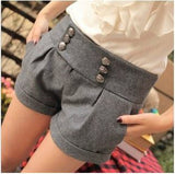 Autumn And Winter Double Breasted Shorts - J20Style - 2