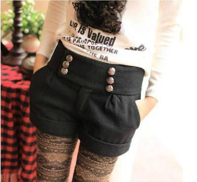 Autumn And Winter Double Breasted Shorts - J20Style - 3