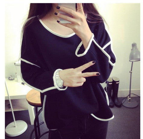 Loose And Long Sleeves Winter Sweatshirt - J20Style - 2