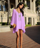 Full Sleeve Chiffon V-Neck Dress - J20Style - 7