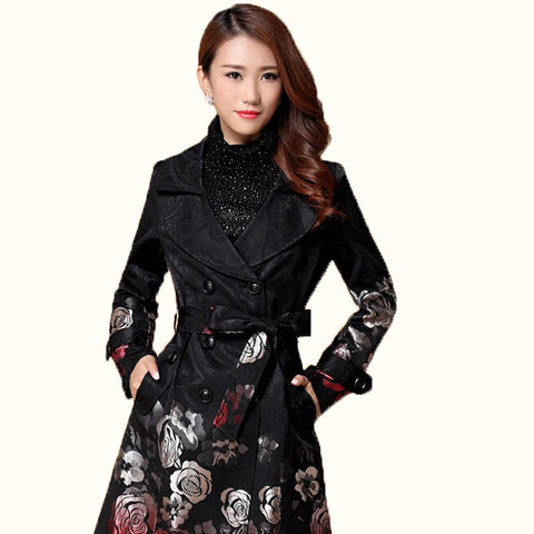 Spring Floral Long Outwear - J20Style - 1