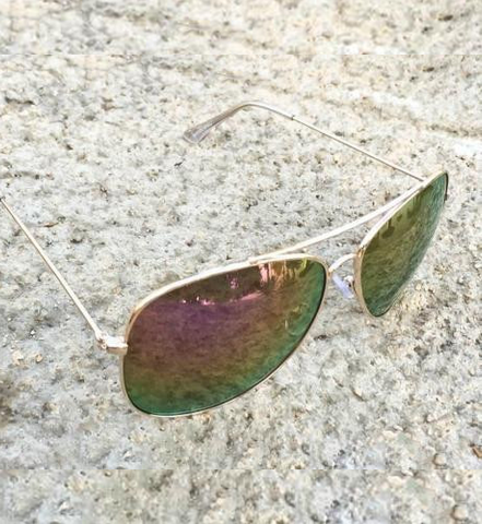 Big Purple Lavender Aviator Sunglasses - J20Style - 1