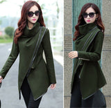 Autumn Irregular Overcoat for Women - J20Style - 8